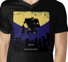 Iron Friendship Mens V-Neck T-Shirt