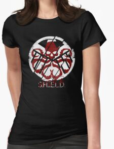 THE REBELLION Womens Fitted T-Shirt