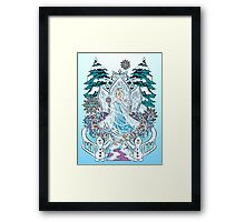 The Snow Queen  Framed Print