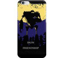 Iron Friendship iPhone Case/Skin