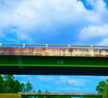 I-16 Bridge over Hwy 221 Georgia Sticker