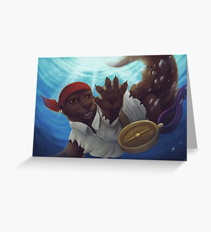 Dive For it! Greeting Card