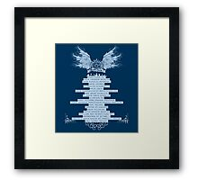 exorcism is my daily bread Framed Print