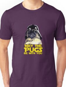 Funny Star Wars May The Pugs Be With You Unisex T-Shirt