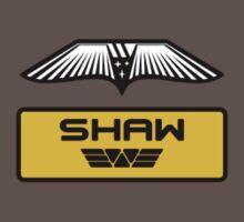 Dr. Elizabeth M. Shaw - Prometheus (Wings and Patch) Weyland Logo (CLEAN NEW LOOK SIDE) by James Ferguson - Darkinc1
