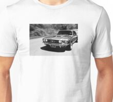 1967 Ford Mustang B/W  Unisex T-Shirt