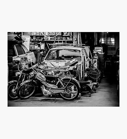 Garage... Photographic Print