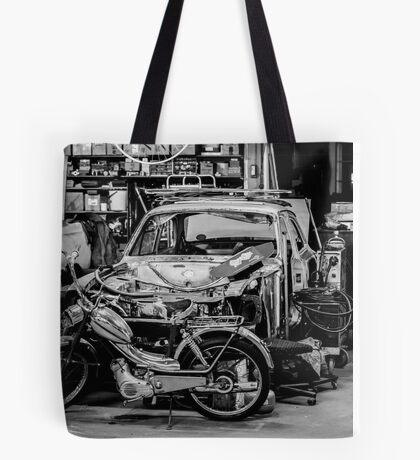 Garage... Tote Bag
