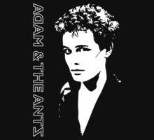 Adam and the Ants - Adam Ant - Punk 1977 by James Ferguson - Darkinc1