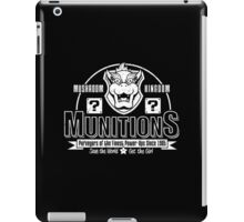 Mushroom Kingdom Munitions iPad Case/Skin