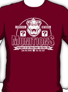 Mushroom Kingdom Munitions T-Shirt