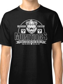 Mushroom Kingdom Munitions Classic T-Shirt