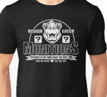 Mushroom Kingdom Munitions Unisex T-Shirt