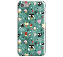 pattern of the fun little owls  iPhone Case/Skin