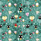 pattern of the fun little owls  by Tanor
