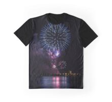 Firework Squiggle Graphic T-Shirt
