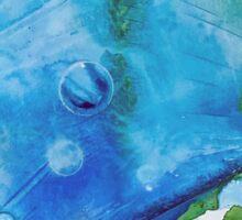 Ice Caps, Ice Bubbles, Environment Sticker