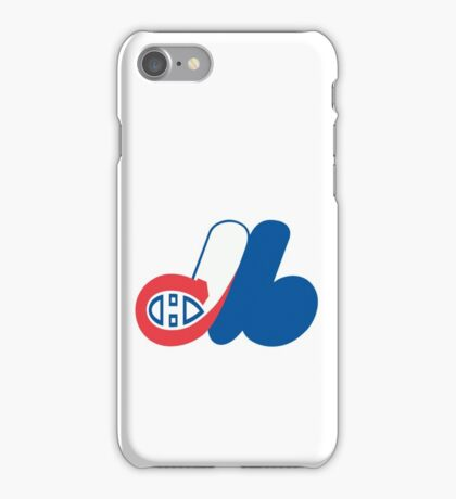 Habs - Expos Logo Mashup iPhone Case/Skin