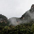Newns Mountain Range, NSW, Australia by Adara Rosalie