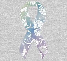 Wallpapered Ribbon One Piece - Short Sleeve