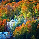 Bromont Resort in Autumn by Yannik Hay