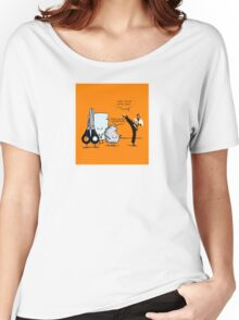 Stone, paper and scissor Women's Relaxed Fit T-Shirt