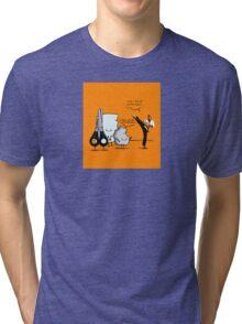 Stone, paper and scissor Tri-blend T-Shirt