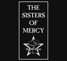 The Sisters Of Mercy - The World's End - Logo in Box by James Ferguson - Darkinc1