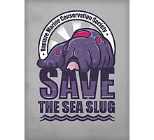 Save the Sea Slug Photographic Print