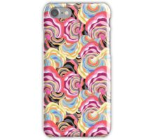 abstract color pattern iPhone Case/Skin