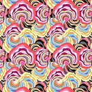 abstract color pattern by Tanor