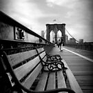 Brooklyn Bridge Promenade by Jessica Jenney
