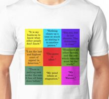 Sherlock Holmes Quotes Unisex T-Shirt