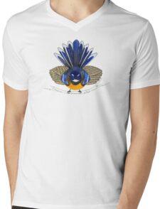 Fantail bird Mens V-Neck T-Shirt