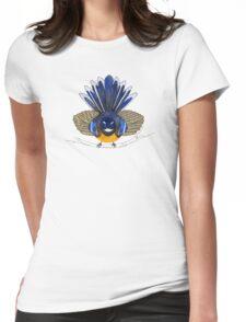 Fantail bird Womens Fitted T-Shirt