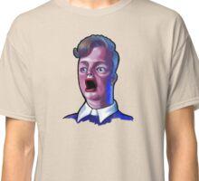 Dude in Shock Funny Caricature Meme T-Shirt Classic T-Shirt