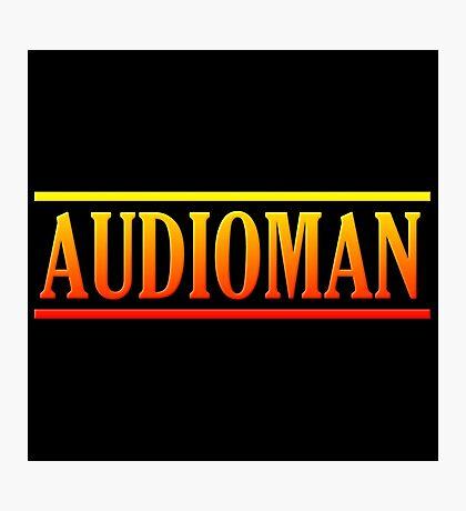 Colorful Audioman Photographic Print