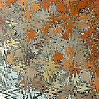 Gaudi Mosaic Abstraction by John Gaffen
