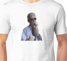 Joe Biden Eating Ice Cream and Holding $20 Unisex T-Shirt