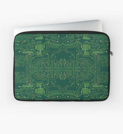 Computer Motherboard Pattern Laptop Sleeve
