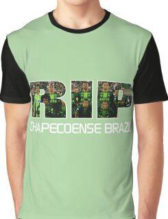 RIP Chapecoense , tribute to chapecoense football team. Graphic T-Shirt