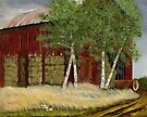 """Old Man Walker's Barn""... prints and products by © Bob Hall"
