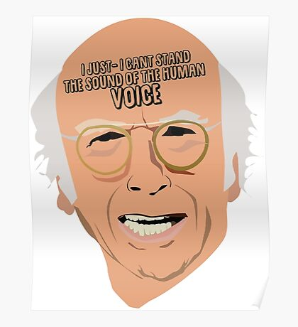 Curb Your Enthusiasm - Larry Poster
