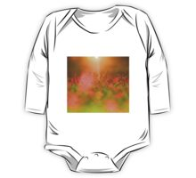 Pink Flower Garden - Heaven's Light and Wonder of Color One Piece - Long Sleeve
