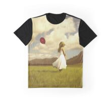 Girl with the Red Ballon Graphic T-Shirt