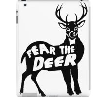 Fear the Deer iPad Case/Skin
