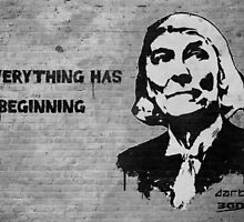 "Banksy/Darkinc1 - Doctor Who Tribute - ""Everything Has a Beginning"" by James Ferguson - Darkinc1"