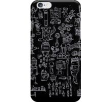 Scribblings light iPhone Case/Skin