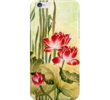 Lotuses in the Grass iPhone Case/Skin