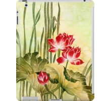 Lotuses in the Grass iPad Case/Skin